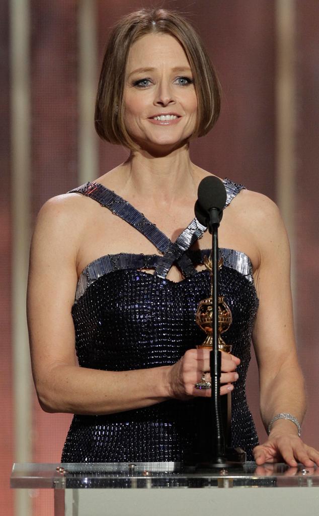 Jodie Foster, Golden Globes, Memorable Moments, 2013