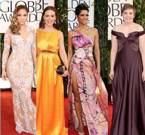 Mal vestidas do Globo de Ouro, Jennifer Lopez, Halle Berry