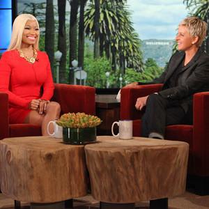 Nicki Minaj, Ellen DeGeneres, The Ellen DeGeneres Show