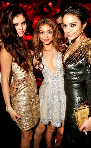 Selena Gomez, Sarah Hyland, Vanessa Hudgens