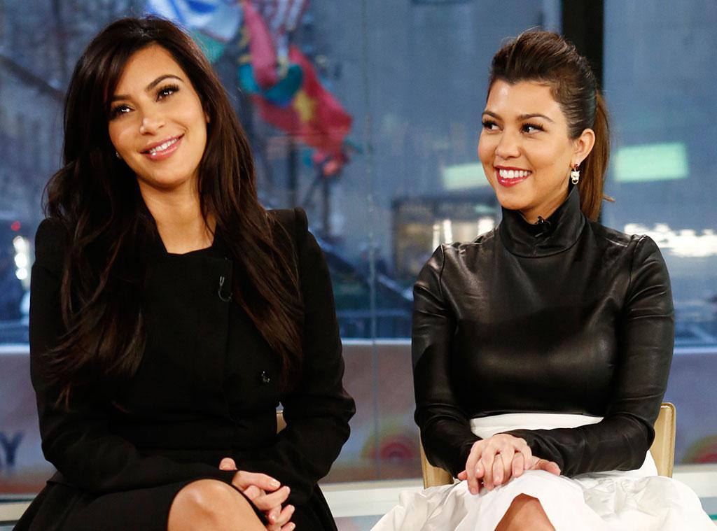 Kim Kardashian, Kourtney Kardashian, Today Show
