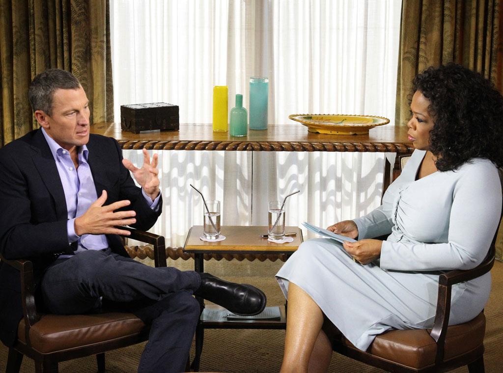 Lance Armstrong, Oprah