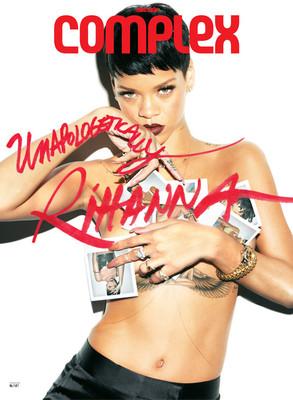 Rihanna Complex Magazine