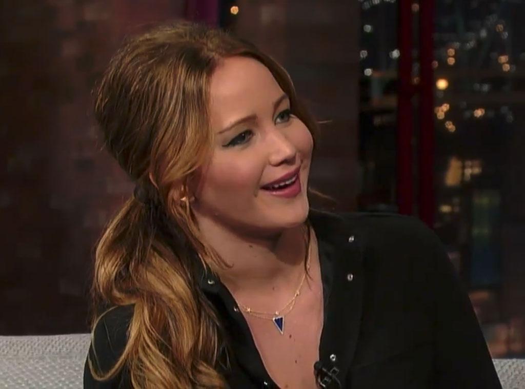 Jennifer Lawrence, David Letterman Show