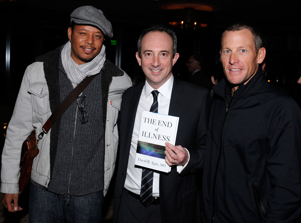 Terrence Howard, David B. Agus M.D., Lance Armstrong