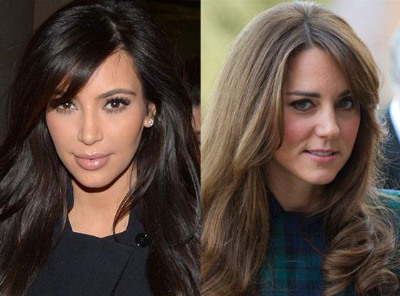 Kate Middleton, Catherine, Duchess of Cambridge, Kim Kardashian