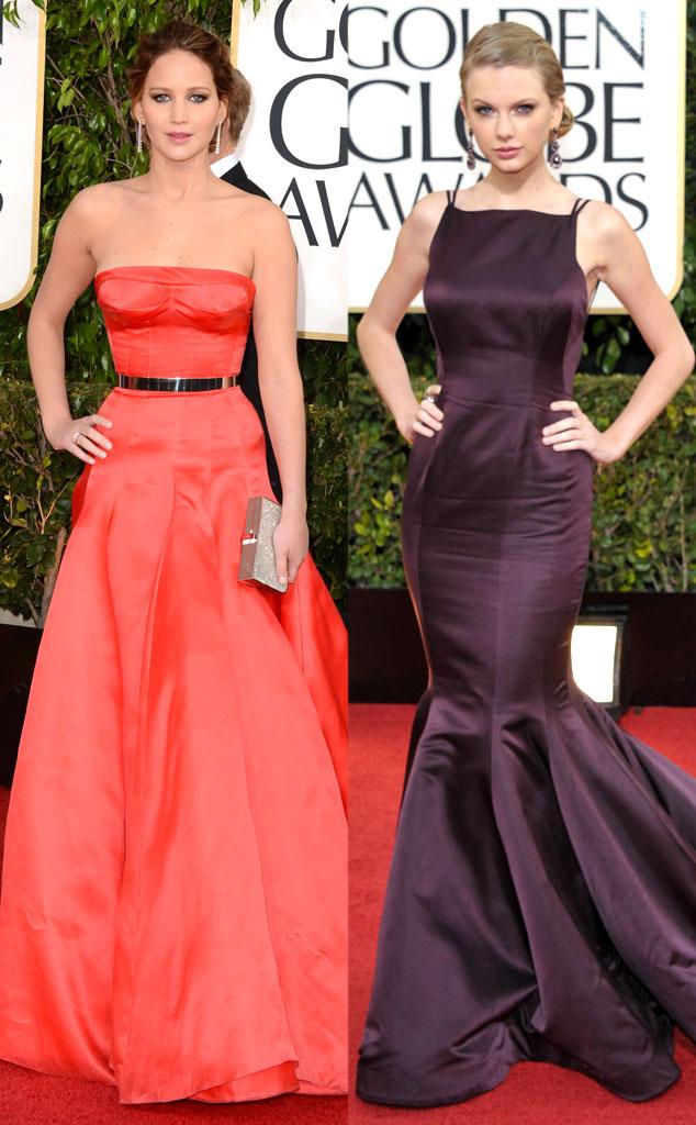 Jennifer Lawrence, Taylor Swift