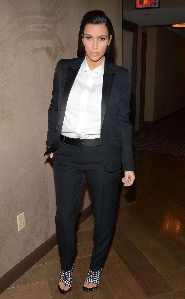 Kim Kardashian, Pantsuit