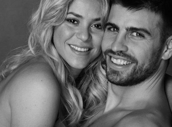Shakira en la dulce espera