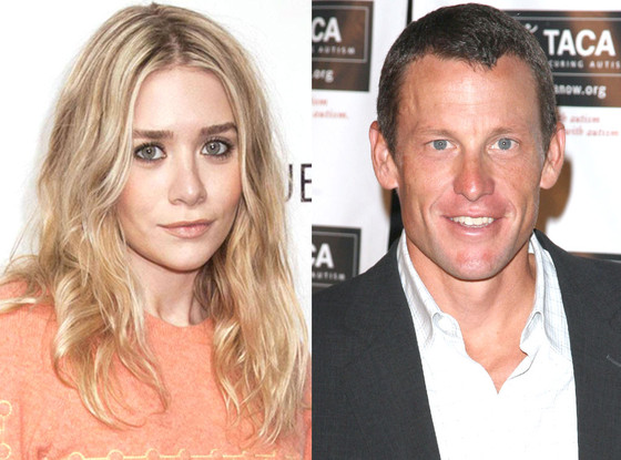 Lance Armstrong, Ashley Olsen