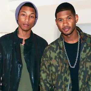 Usher, Pharrell Williams, The Voice