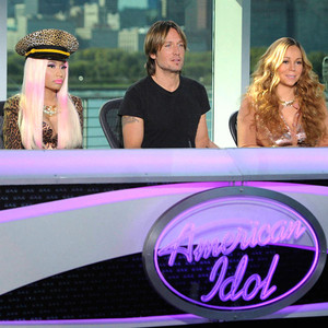 Nicki Minaj, Keith Urban, Mariah Carey, AMERICAN IDOL