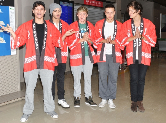 One Direction, Japao