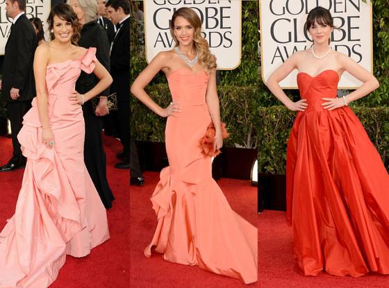 Lea Michele, Jessica Alba, Zooey Deschanel