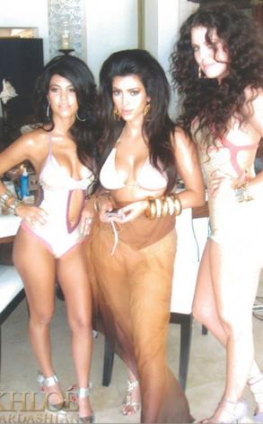 Kourtney, Kim, Khloe Kardashian