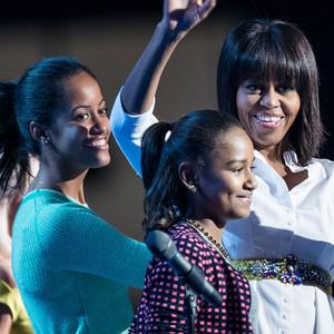 Michelle Obama, Sasha Obama, Malia Obama