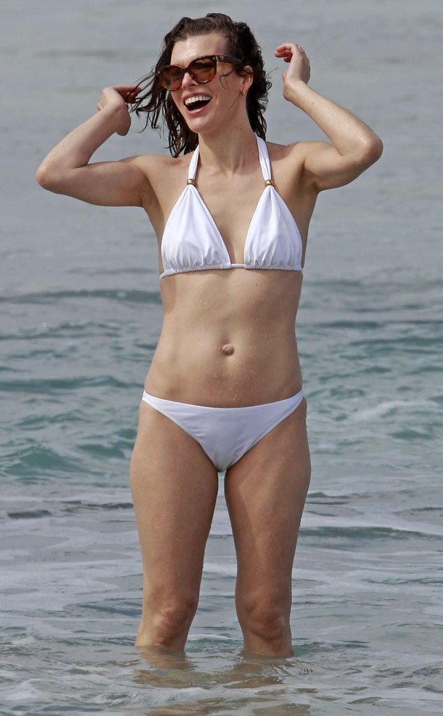 Tits Swimsuit Milla Jovovich  naked (79 images), Instagram, cameltoe