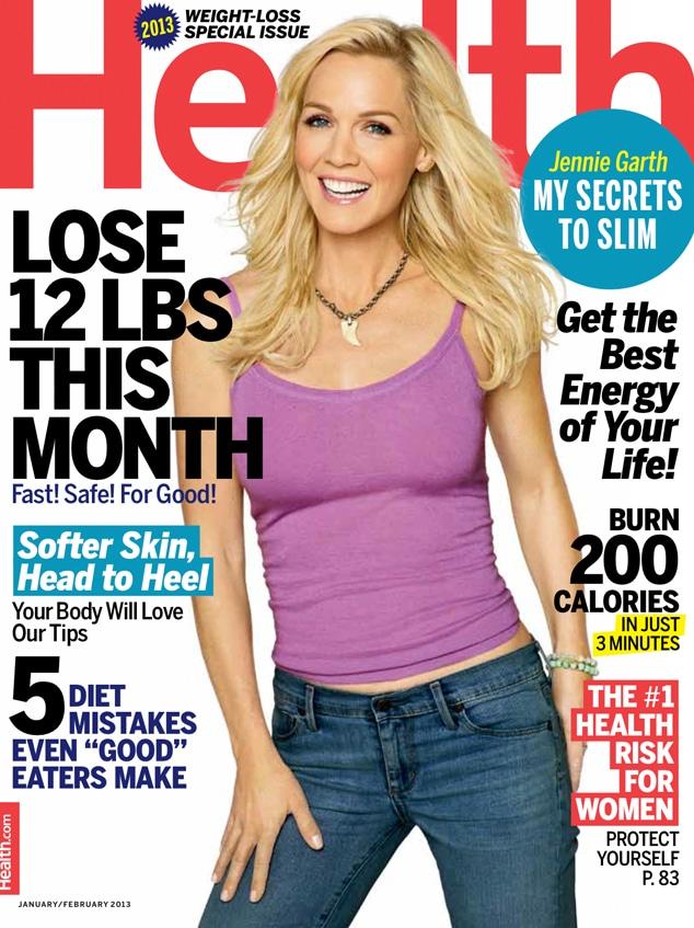 Jennie Garth, Health Magazine Cover