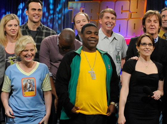Jack McBrayer, Tina Fey, Amy Poehler, Tracy Morgan, 30 Rock