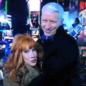 Kathy Griffin, Anderson Cooper