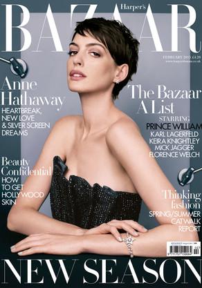 Anne Hathaway, Harper's Bazaar