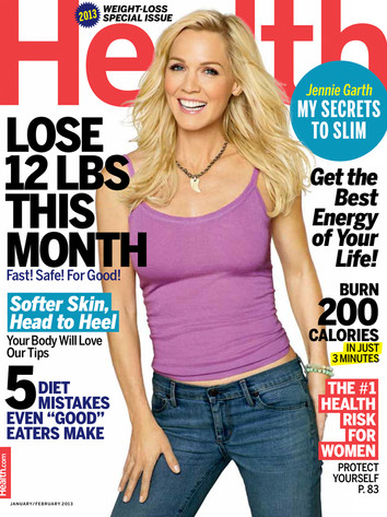 Jennie Garth, Health Magazine Cover
