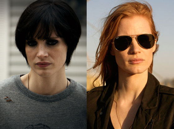Mama, Zero Dark Thirty, Jessica Chastain