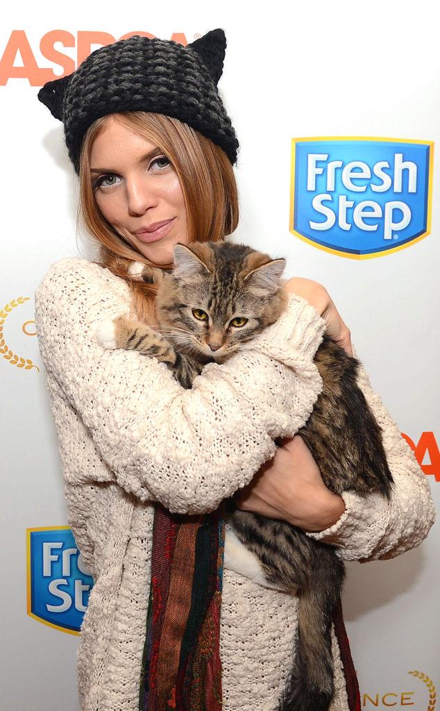 AnnaLynne McCord, Sundance, Celeb with Cats