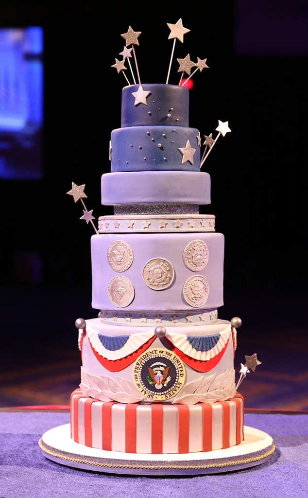 Commander-in-Chief Ball Cake