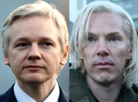 Benedict Cumberbatch, Julian Assange