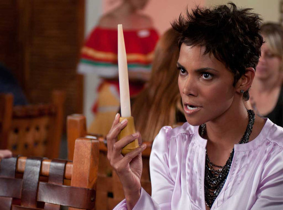 Does Halle Berry Dip Her Breasts in Guacamole in New Movie ...