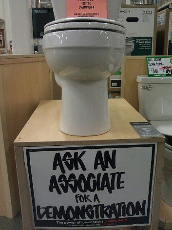 Home Depot Toilet