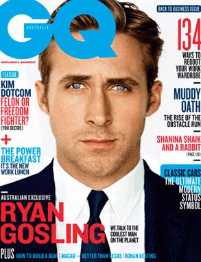 Ryan Gosling, GQ Australia