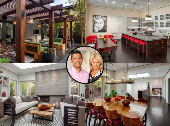 Mark Consuelos, Kelly Ripa, Manhattan Penthouse