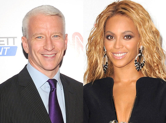 Anderson Cooper, Beyonce