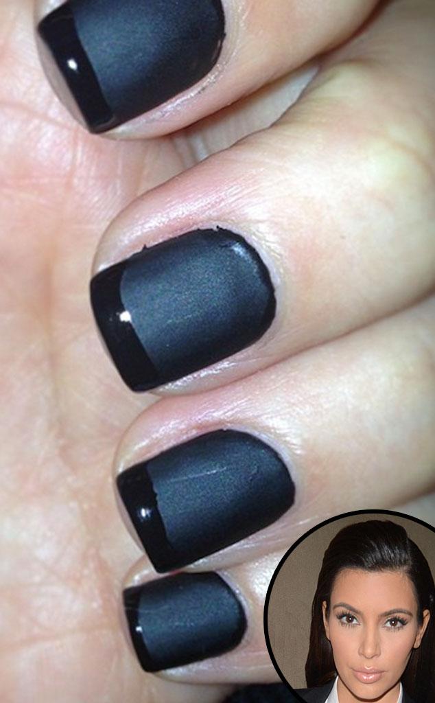 Kim Kardashian, Nails