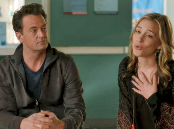 Matthew Perry, Piper Perabo, Go On