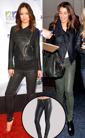 Olivia Wilde, Lea Michele, Bluelab Detour Leggings