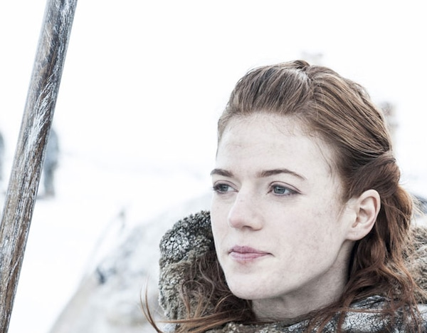 Rose Leslie from Games of Thrones: Season 3 First Look | E ...