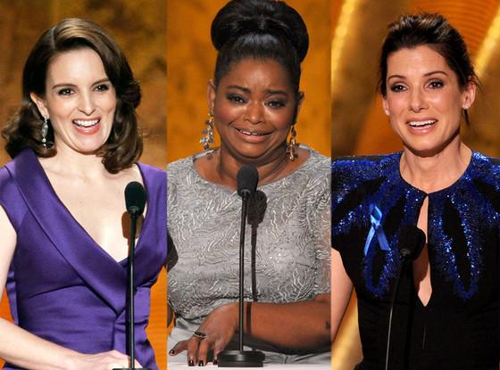 Tina Fey, Octavia Spencer, Sandra Bullock