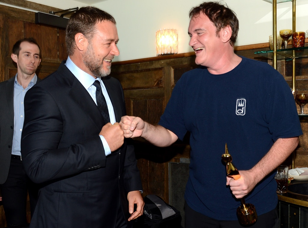 Russell Crowe, Quentin Tarantino