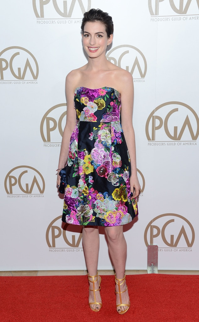 Anne Hathaway, Producers Guild Awards