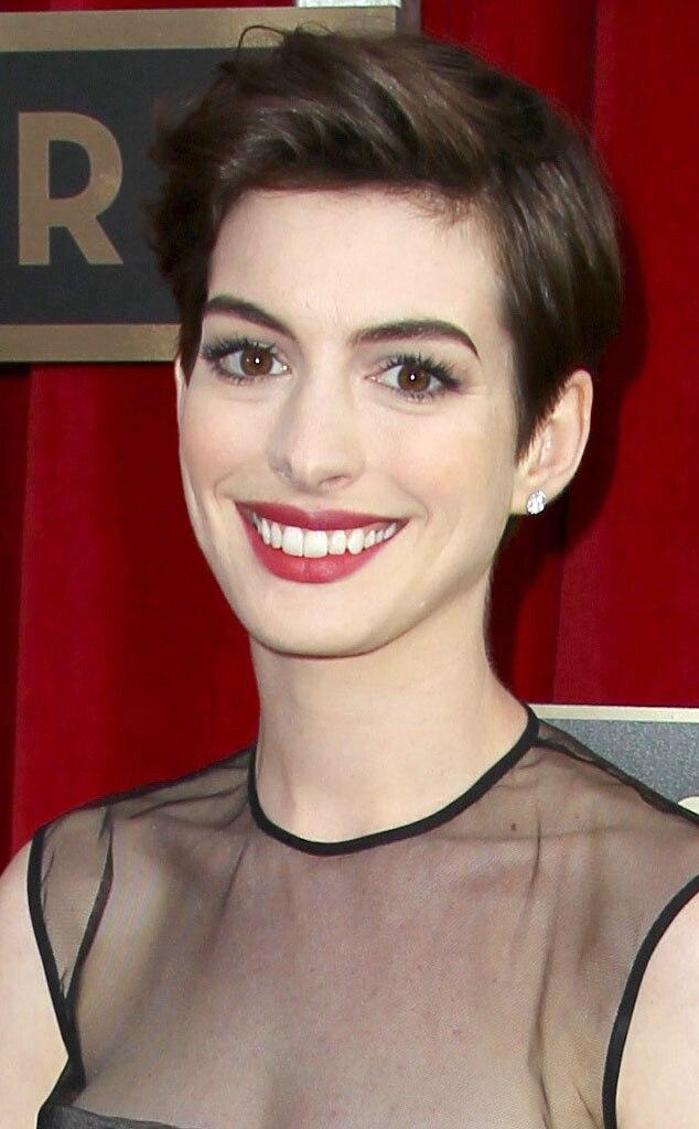 Anne Hathaway, SAG Arrivals