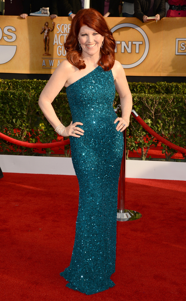 Kate Flannery, SAG Arrivals