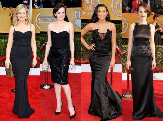 Amy Poehler, Elisabeth Moss, Naya Rivera, Michelle Dockery