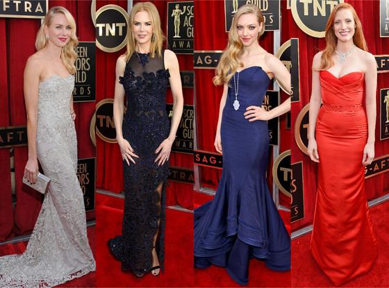 Amanda Seyfried, Nicole Kidman, Naomi Watts, Jessica Chastain