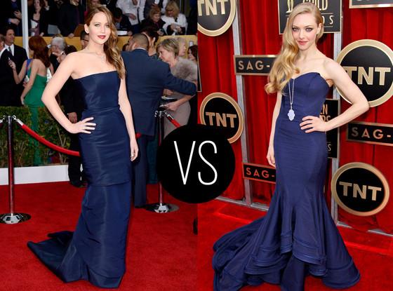 Jennifer Lawrence, Amanda Seyfried