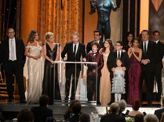 Modern Family Cast, Winner, SAG Awards