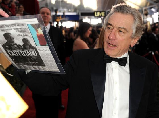 Robert De Niro, SAG Candids