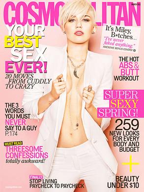Miley Cyrus, Cosmopolitan